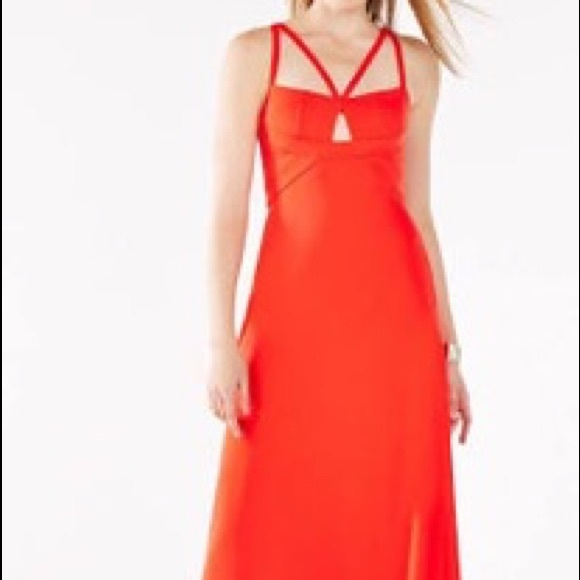 BCBG Dresses | Kelbie Evening Gown In Red Size 2 | Poshmark